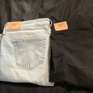 2 pairs NWT Hollister Co jeans